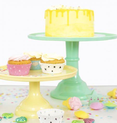 Support jaune à gâteaux - 23,50 cm