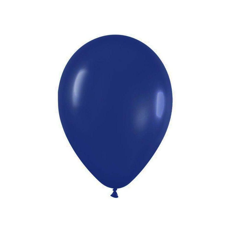 Ballon bleu marine - 28 cm