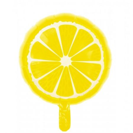 "Ballons mylar ""citron"" - 46 cm"