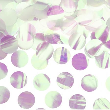 15 g confettis mylar irisé