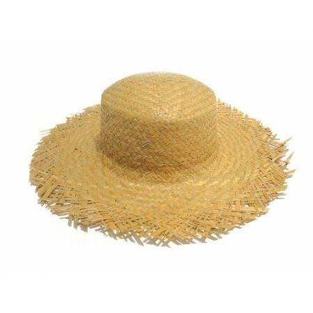 Chapeau de paille champêtre