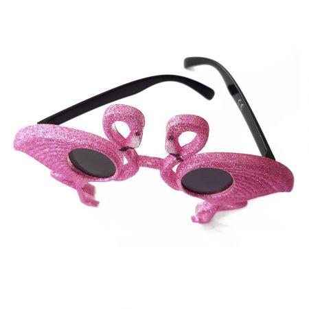 """Paire de lunettes """"flamant rose"""""""