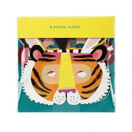 """Masques enfants """"animaux exotiques"""""""