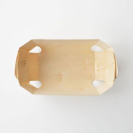 Caissette en bois pour gourmandises - 19 cm