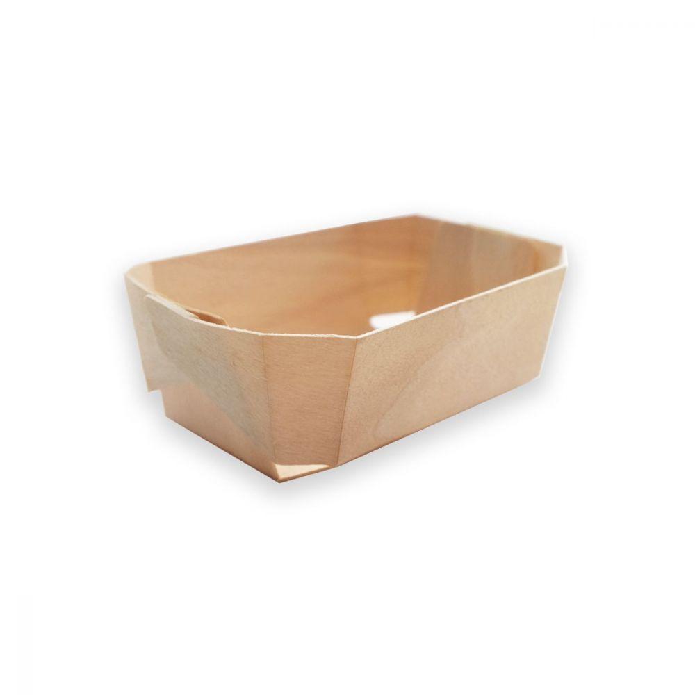 Caissette en bois pour gourmandises - 13 cm