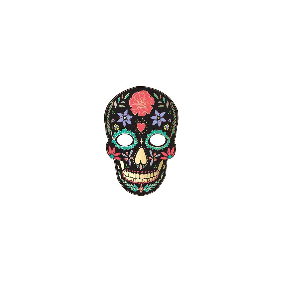 """Masque noire """"dias de los muertos"""""""