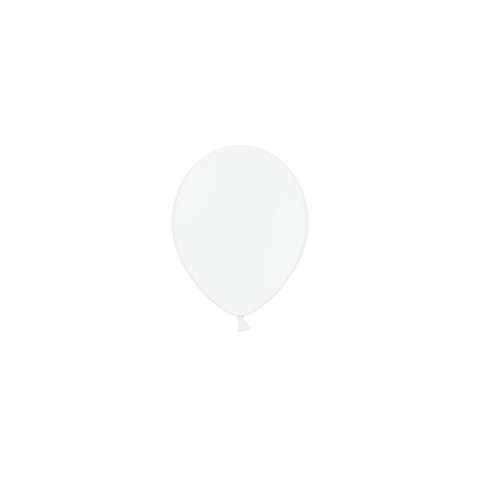 Ballon blanc - 13 cm