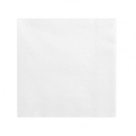 20 serviettes corail