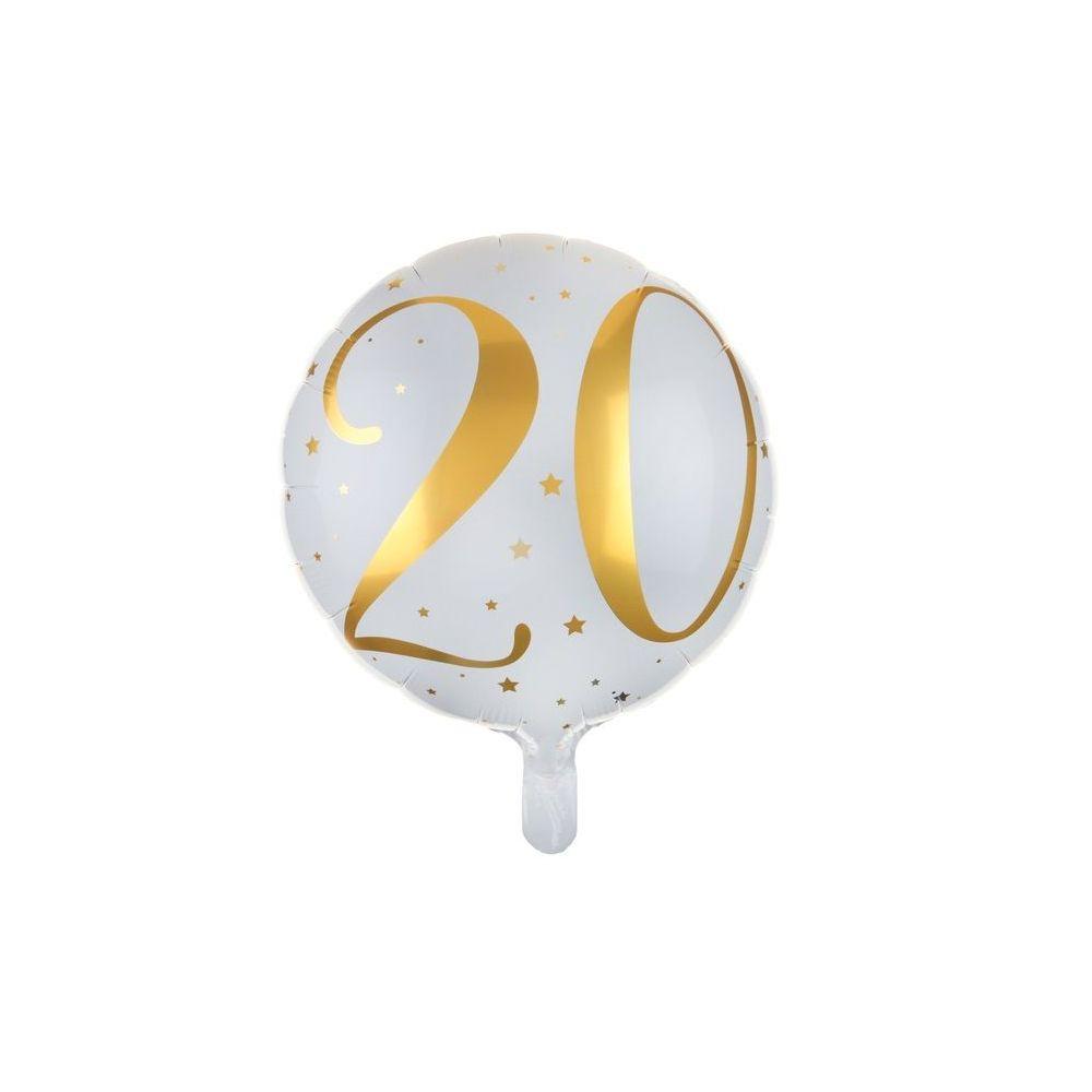 Ballon Anniversaire 20 Ans 35 Cm