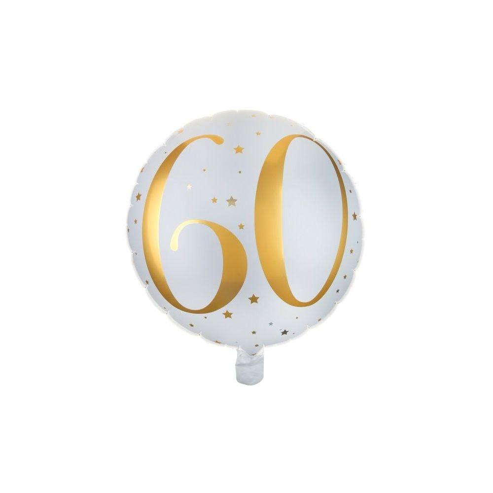 """Ballon anniversaire """"60 ans"""" - 35 cm"""