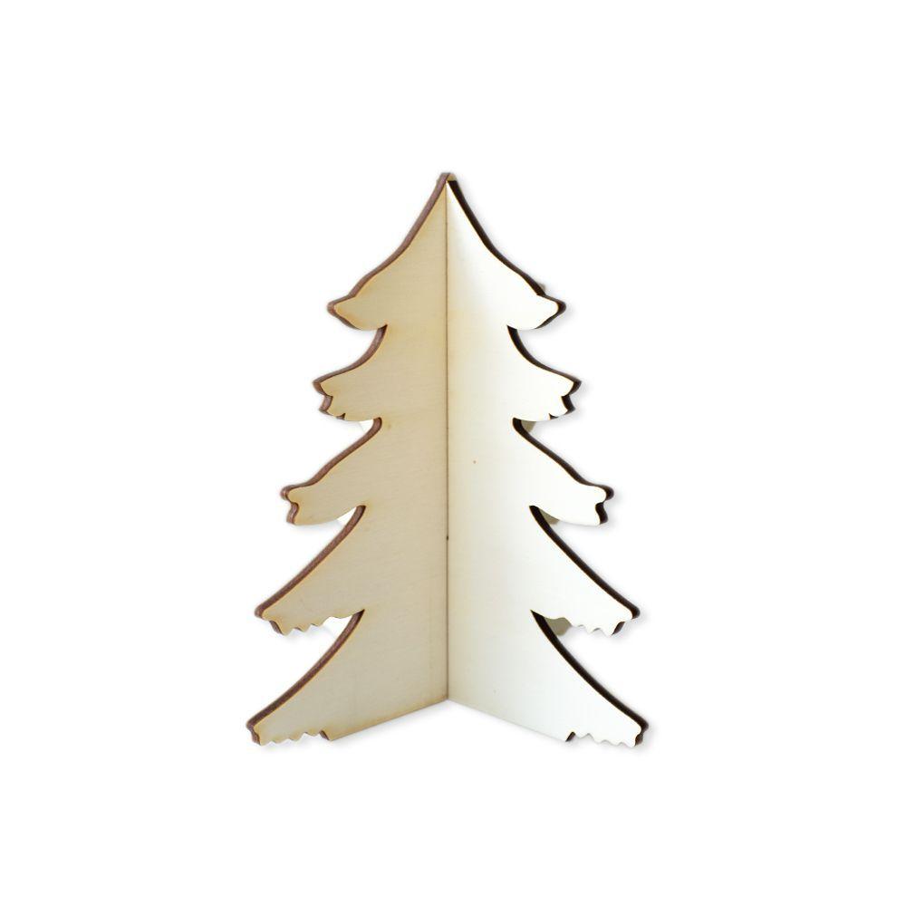 Sapin en bois - Moyen modèle