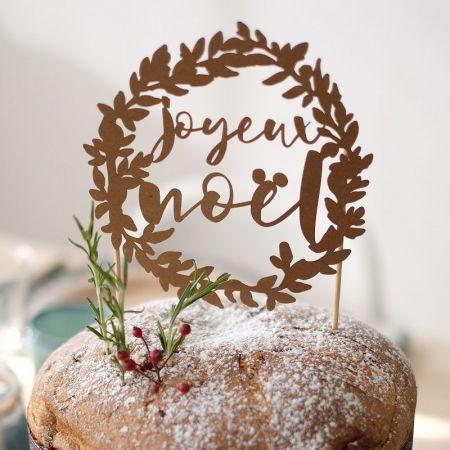 """Cake topper """"Joyeux Noël"""""""