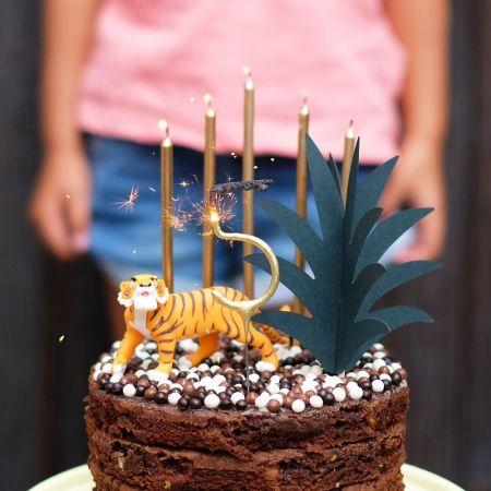"""6 pics à gâteaux """"feuilles d'ananas"""""""