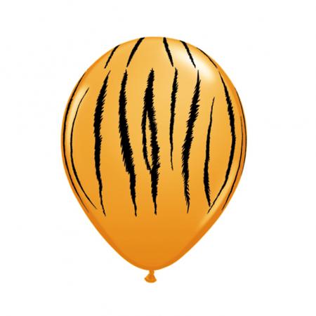 """Ballon """"rayures de tigre"""" -  28 cm"""