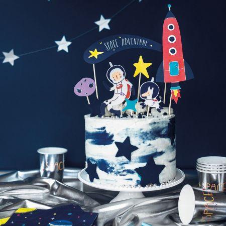 """7 pics à gâteaux """"espace"""""""