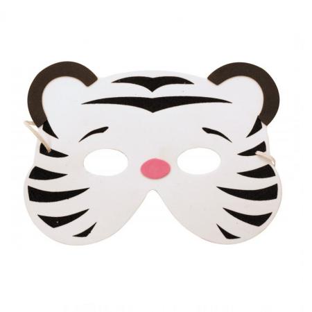 "Masque enfant ""tigre blanc"""