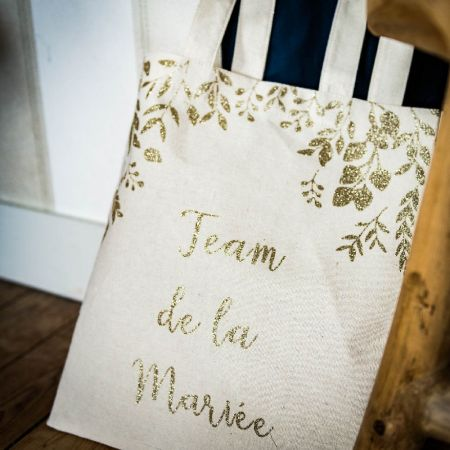 tote bag team de la mariée