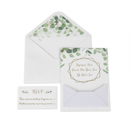 invitations eucalyptus