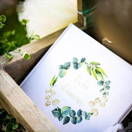 Livre d'or eucalyptus bébé d'amour