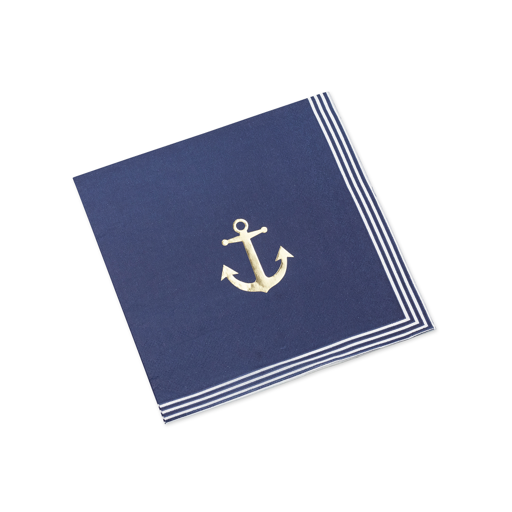 16 serviettes petit marin