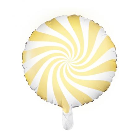 "Ballon rond ""bonbon jaune""..."