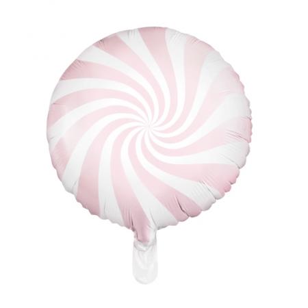 """Ballon rond """"bonbon rose"""" -..."""