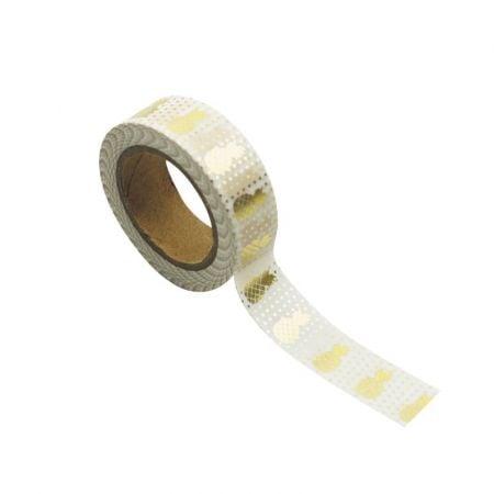 """10 m masking tape """"blanc..."""