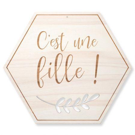 """Décoration en bois """"C'est..."""