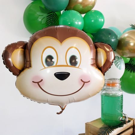Ballon tête de singe - 87 cm