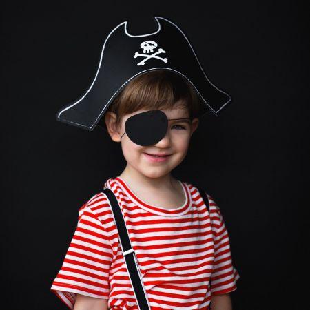 """Chapeau et cache œil """"pirate"""""""