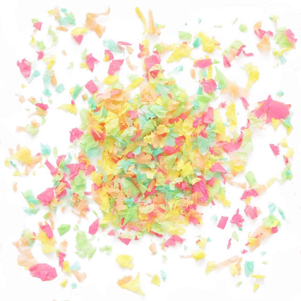50 g confettis colorés