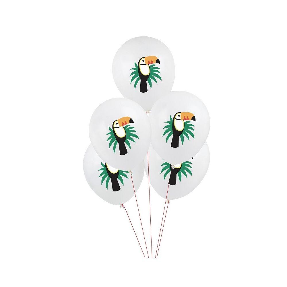 5 ballons toucans