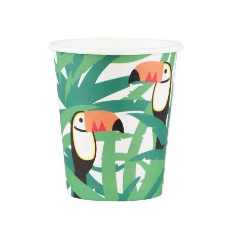 gobelets toucans exotiques