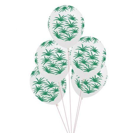 ballons feuilles exotiques