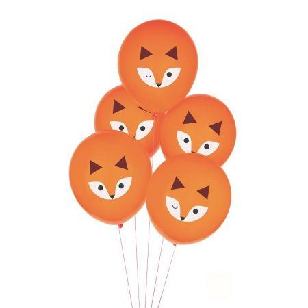 5 ballons renards