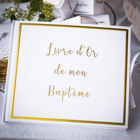 """Livre d'or """"Baptême"""""""
