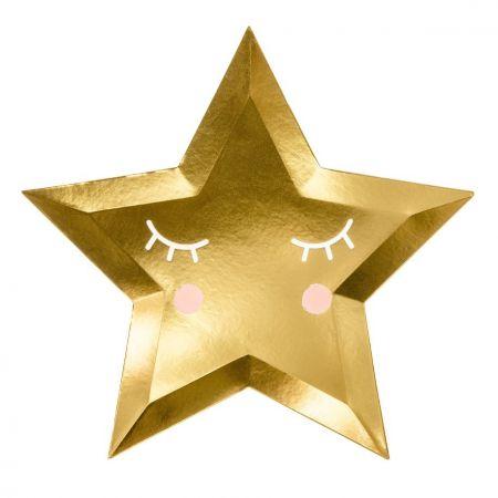 """6 assiettes """"jolie étoile..."""