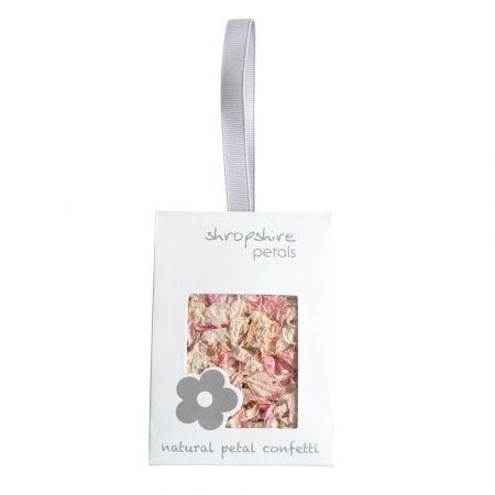 Confettis pétales de fleurs...