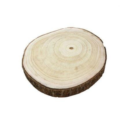 Rondin de bois - 25 cm
