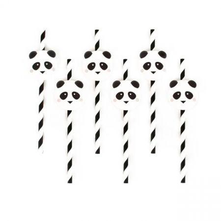 "12 pailles ""panda"""