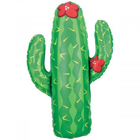 """Ballon mylar """"cactus"""" - 104 cm"""
