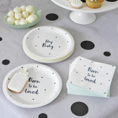"12 assiettes ""Born to be..."