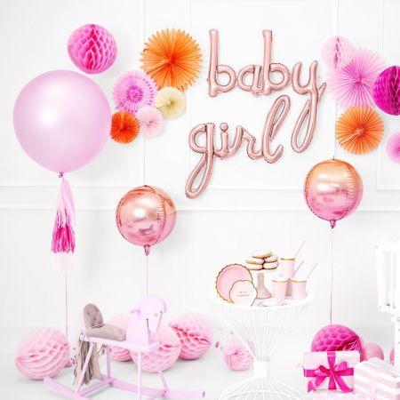 "Ballon rose gold ""girl"""