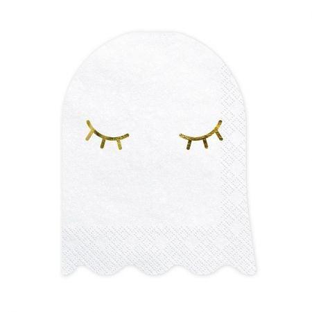 """20 serviettes """"fantôme"""""""