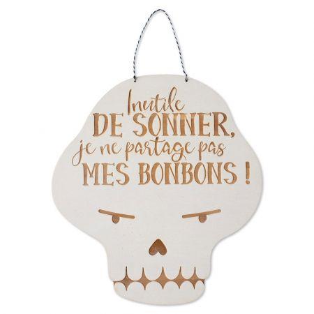 """Décoration en bois """"squelette"""""""