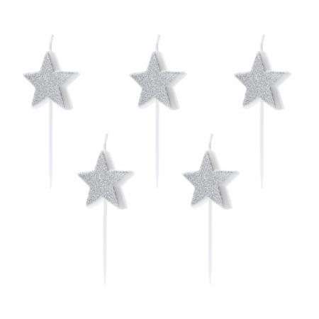 "5 bougies""étoiles"""