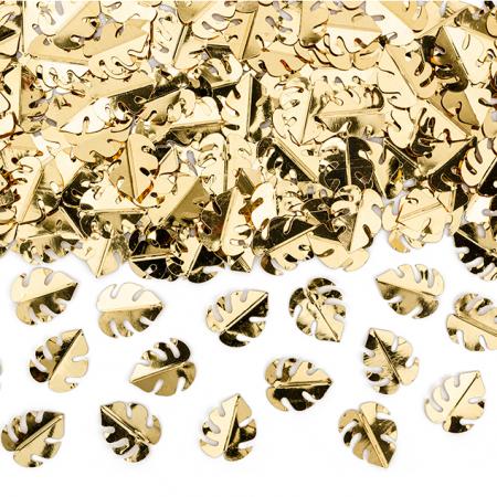 15 g confettis feuilles dorés