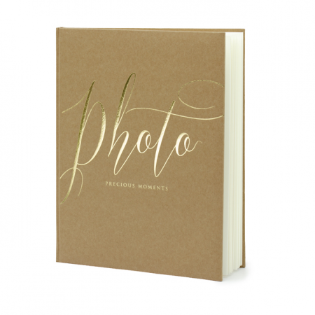"Livre ""Photo"" kraft"
