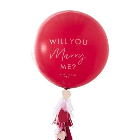"Kit pour ballon ""Will you..."