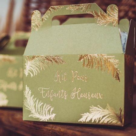 6 boîtes cadeau enfants...